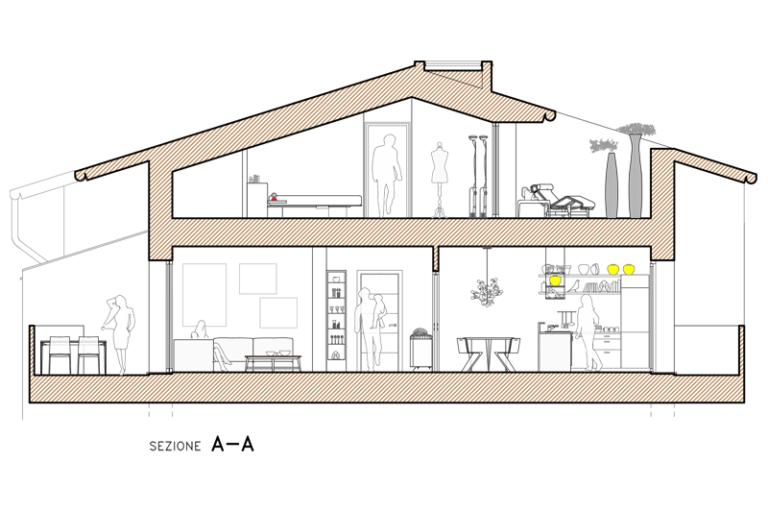 planF-quadrilocale-terrazzo-sezione